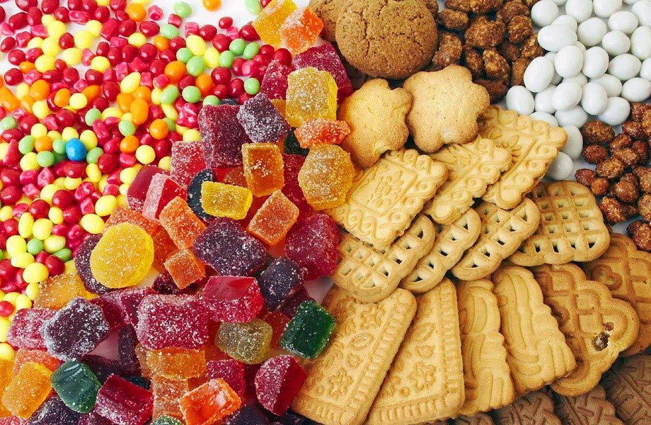 Candies and cookies