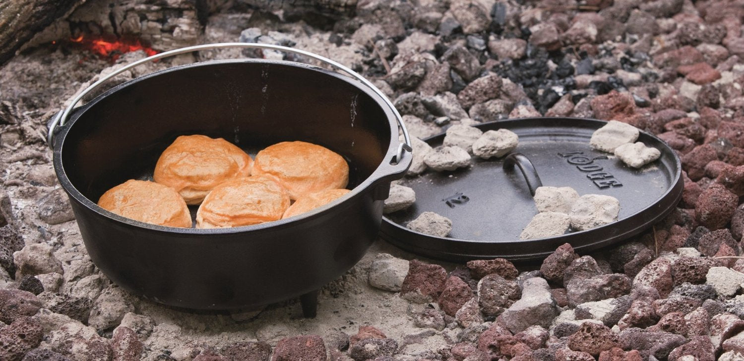 10 best outdoor campfire cooking equipment barbeqa for How to cook in a dutch oven over a campfire