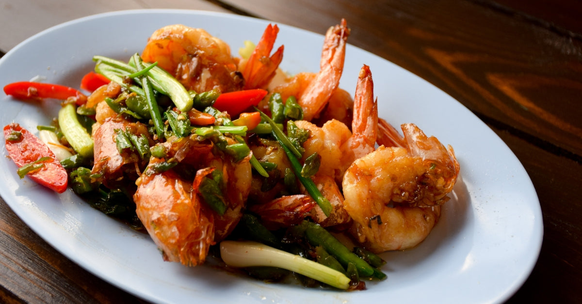 STIR-FRIED SEAFOOD PLATTER