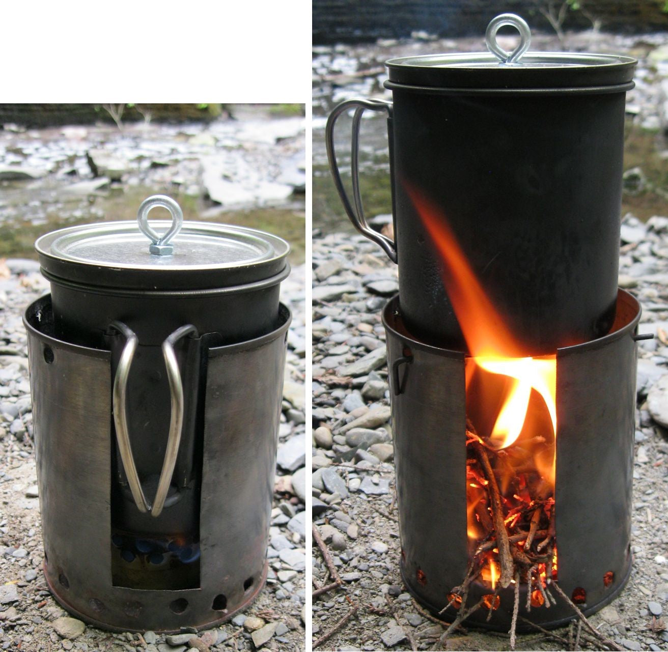 Tube / Can stoves