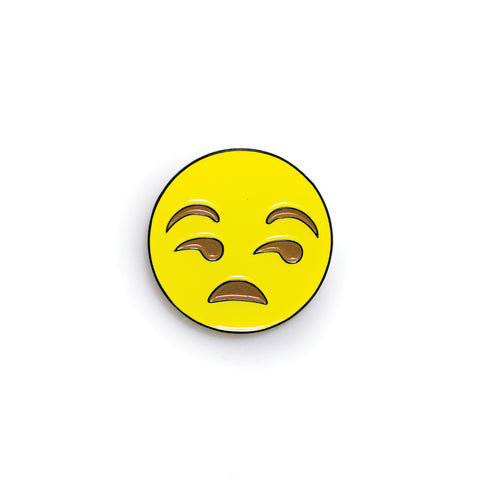 Speechless - Emoji Pin - PINDEMIC  - 1