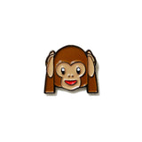 See-hear-speak no evil Monkey Emoji - PINDEMIC  - 3
