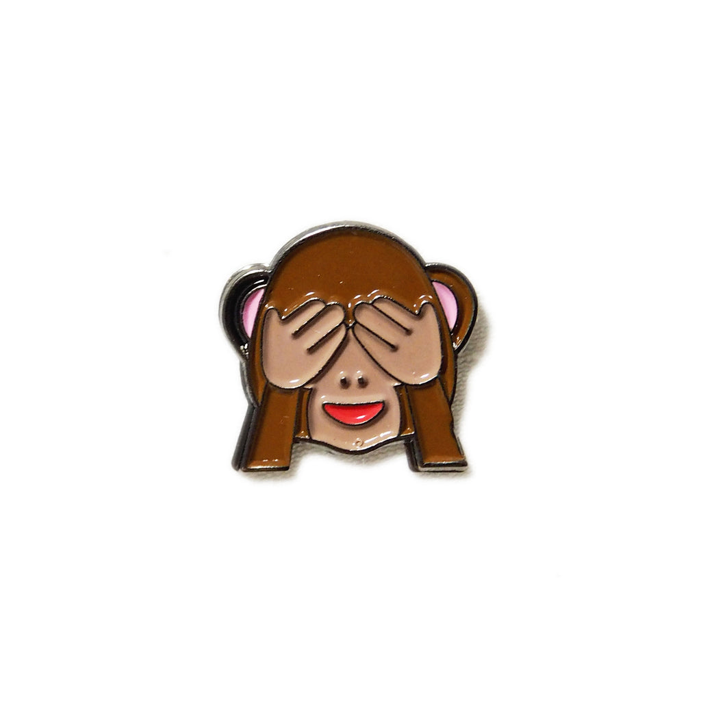 See-hear-speak no evil Monkey Emoji - PINDEMIC  - 2