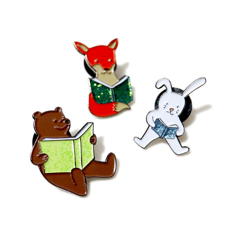 International Literacy Day - Fox, Rabbit, Bear - PINDEMIC  - 1