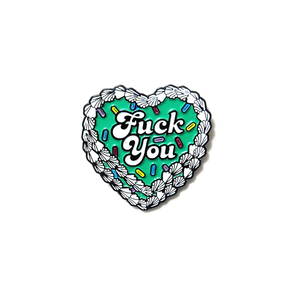Artist Pin: PINDEMIC x Eyecandydesigns - Fuck you - PINDEMIC  - 1