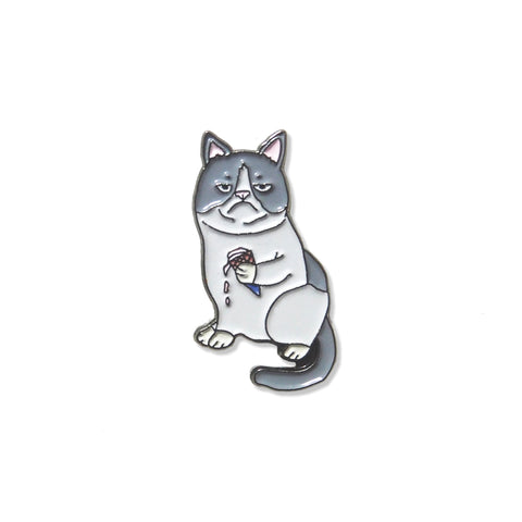 Artist Pin: PINDEMIC x Troops on Print – Grumpy cat