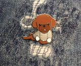 Collab Pin: PINDEMIC x Oh Pop Dog - Poodle