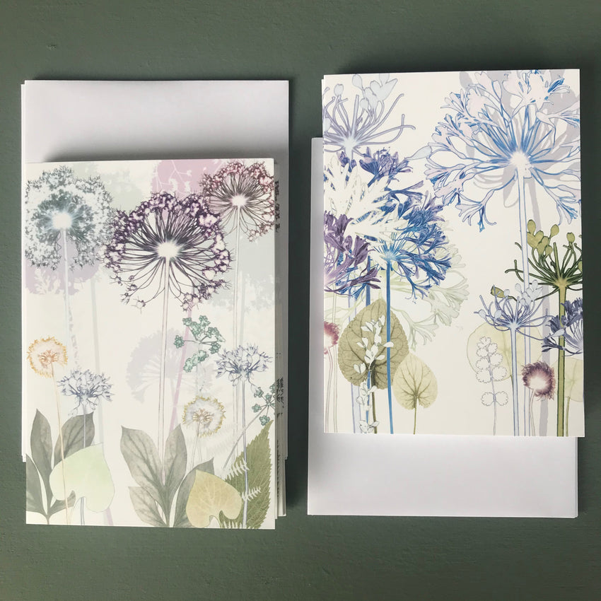 Umbel Notelet Set