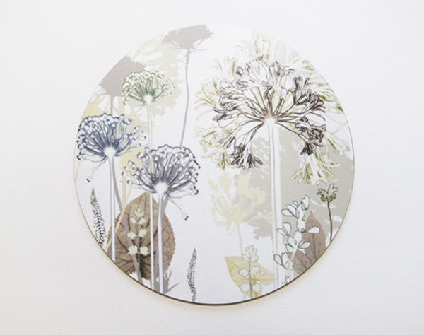 Single Agapanthus Garden Placemat