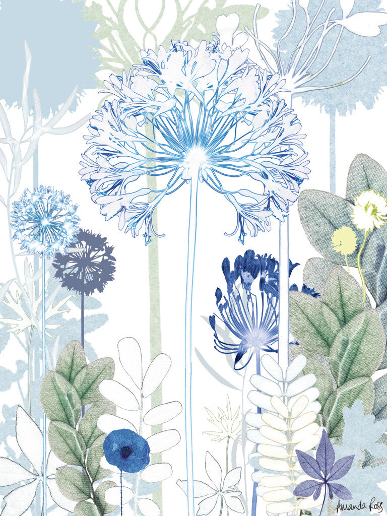 Agapanthus Jungle Reproduction Print