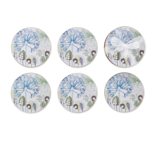 Agapanthus Forest Coasters