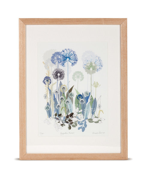 Agapanthus Thicket Limited Edition Print