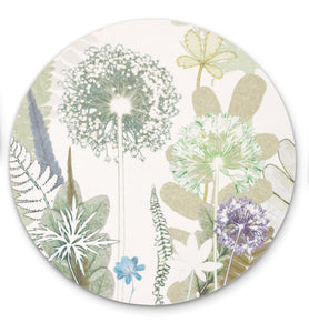 Allium Jungle Placemat / Vegetable Mat