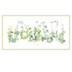 The Bespoke Garden Print