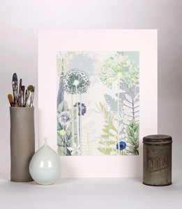 Flower Jungle Reproduction Print