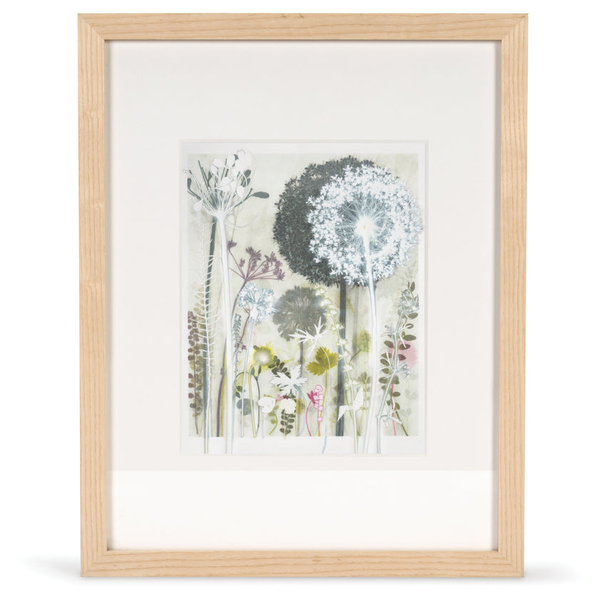 Wild Garlic and Cranesbill Original Print