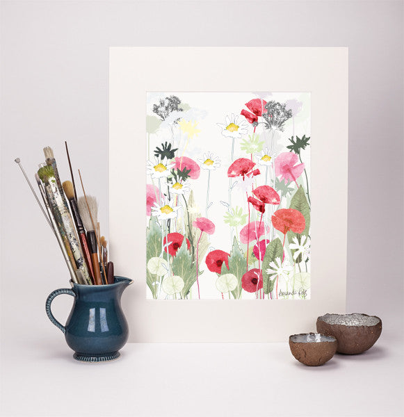 Wild Poppy Reproduction Print