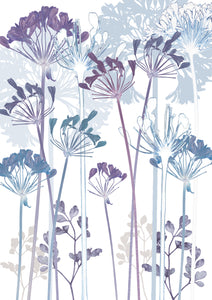 Agapanthus ' Card to Bookmark