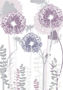 Allium ' Card to Bookmark
