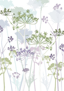 Cowparsley 'Card to Bookmark' Card