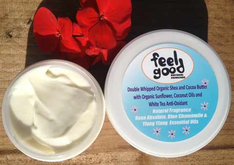 Body Butter with Rose Absolute, Blue Chamomile & Ylang Ylang