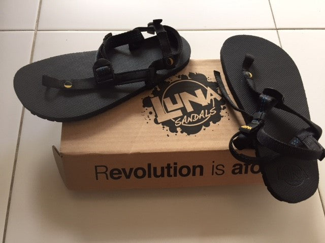 Review of the LUNA Mono Sandals by Gino Ng (Sports Solutions)