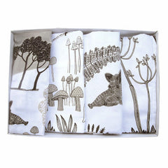 Wild Boar print napkins in a box