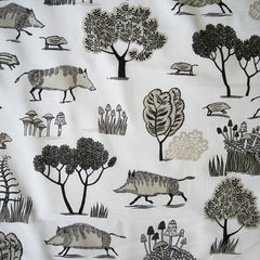 Wild Boar fabric swatch