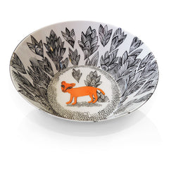 Lion cub design melamine child sized breakfast bowl