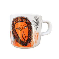 Lion design melamine child's cup
