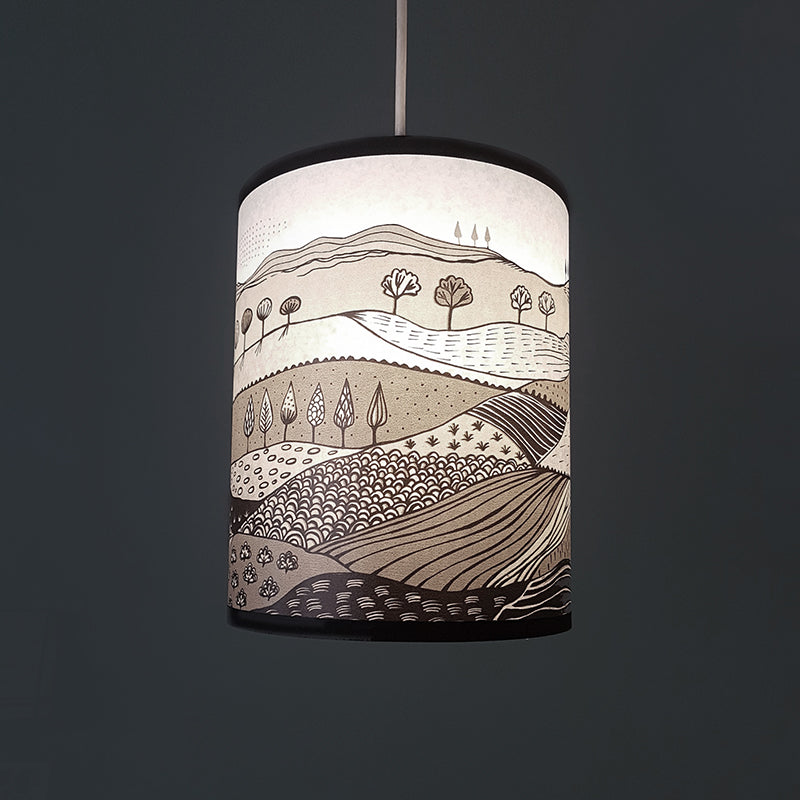 Small Landscape Lampshade SECOND (pendant)