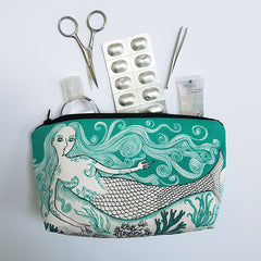 Mermaid Zipped Pouch