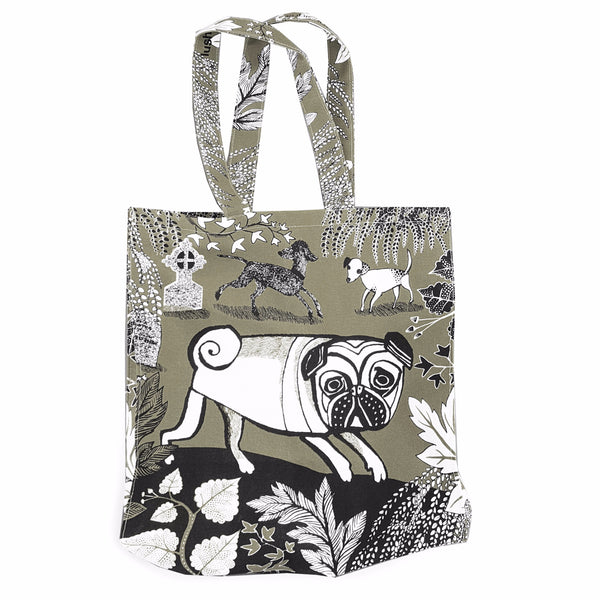 Grey Doggie Bag