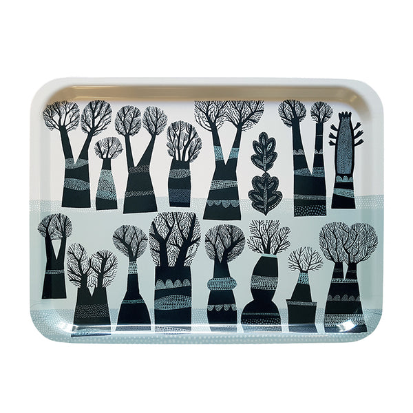 Winter Trees tray