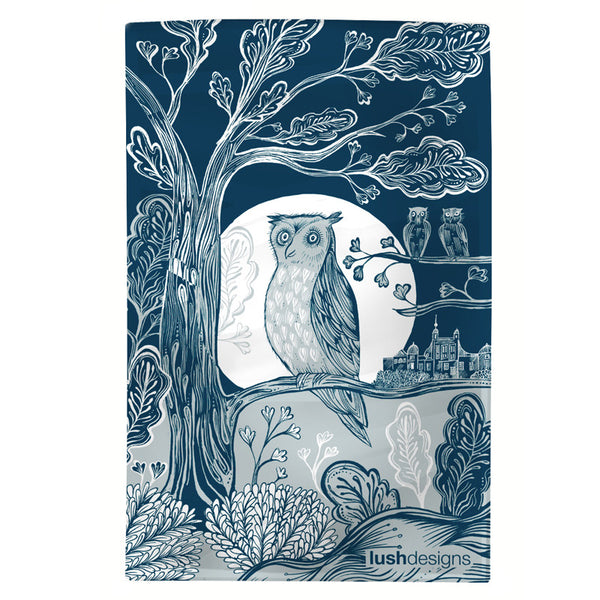 Owl Tea Towel