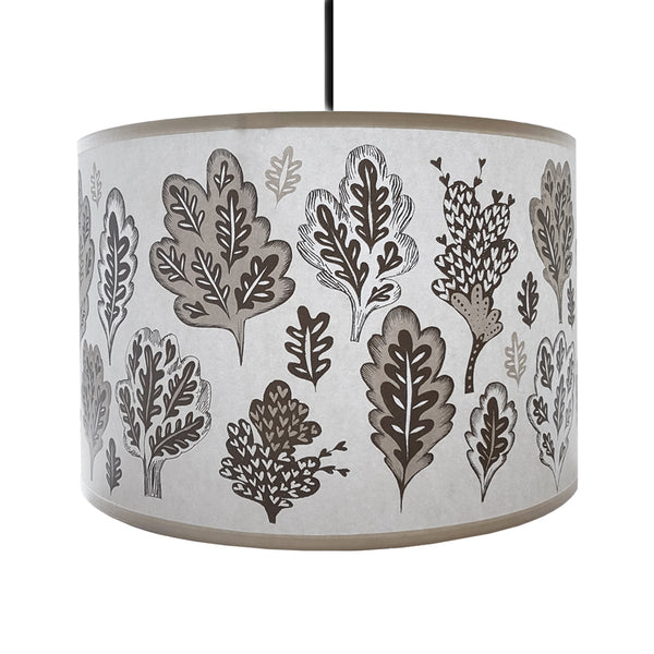 Park Life lampshade pale grey