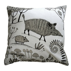 Wild boar cushion