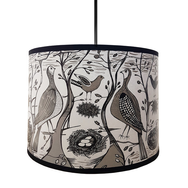Game Bird Lampshade Black