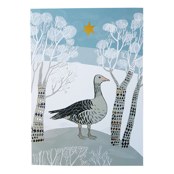 Winter Goose Card