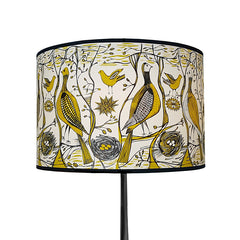 Game Bird Lampshade Mustard
