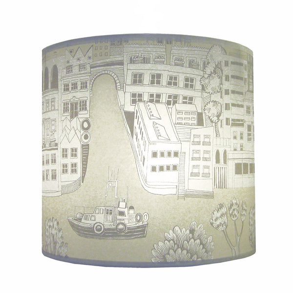 London Lampshade - Cream