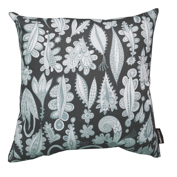 Blue Lovelocks cushion