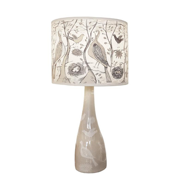 Bird Lamp base - Cream
