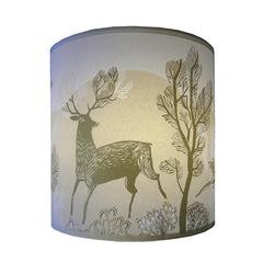 Stag Lampshade - Gold