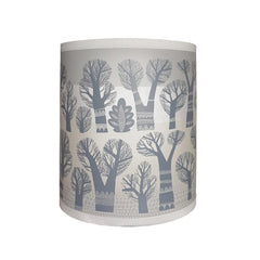 Lush Designs grey tree print shade