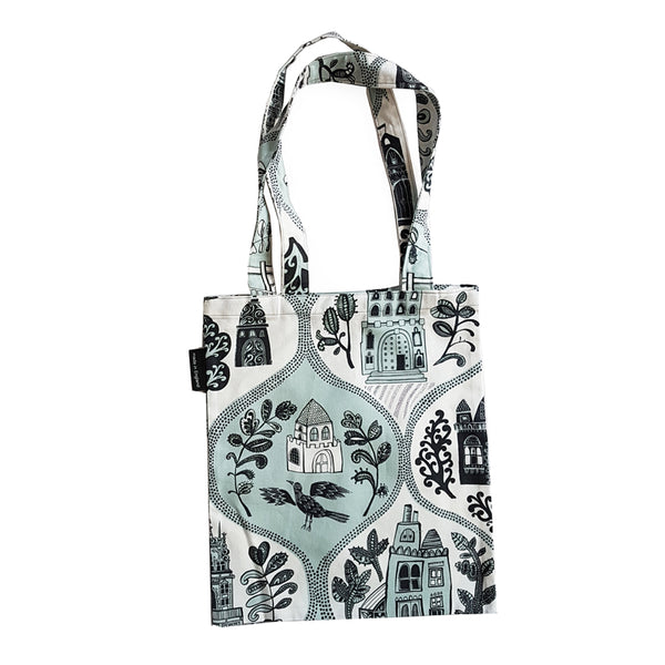 Cottages and Castles mini-tote bag