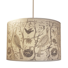 Lush Designs Game bird shade in pale grey and cream