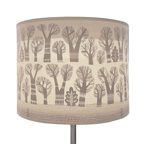 Winter Trees lamp shade