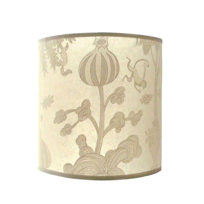 Monkey Lampshade - Cream