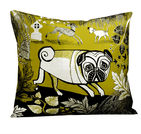 Green Doggie cushion